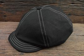 METALIZE 17 SS 棉麻復古報童帽 (1)