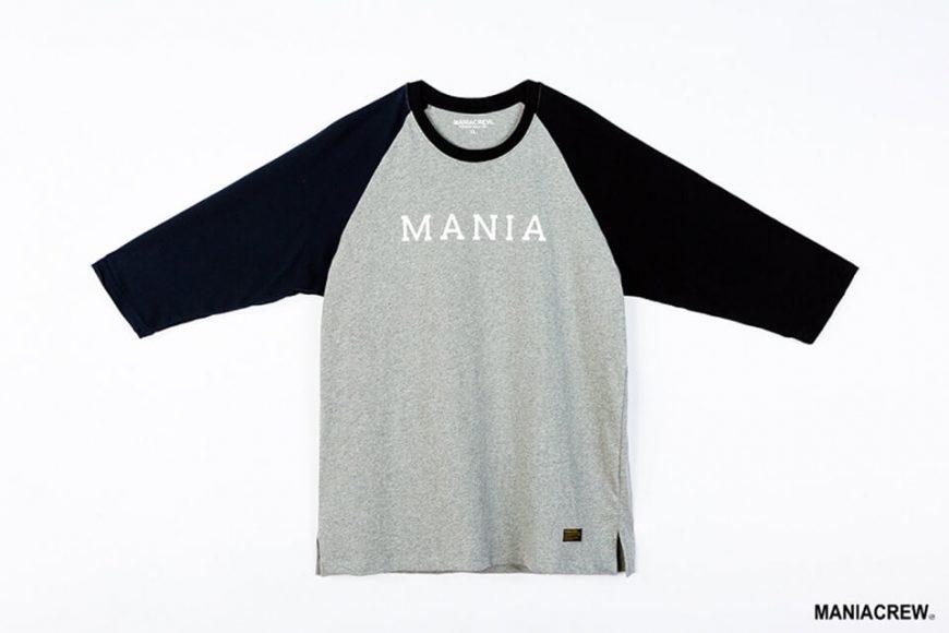 MANIA 17 AW 2 Tone 34 Sleeve Tee (1)