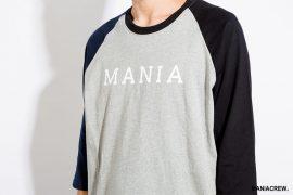 MANIA 17 AW 2 Tone 34 Sleeve Tee (3)