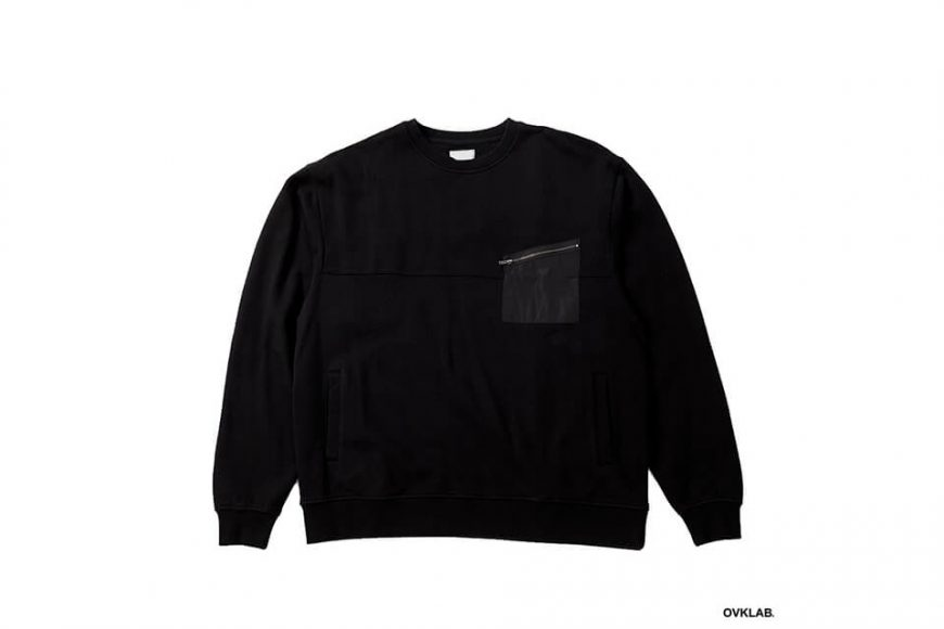 OVKLAB 17 AW Military Pocket Sweatshirt (3)