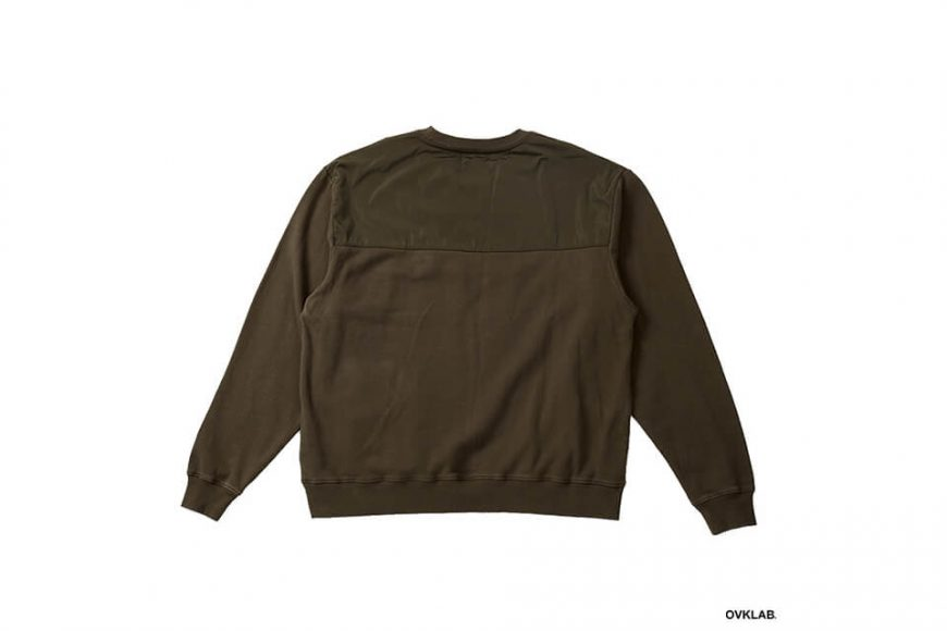 OVKLAB 17 AW Military Pocket Sweatshirt (8)
