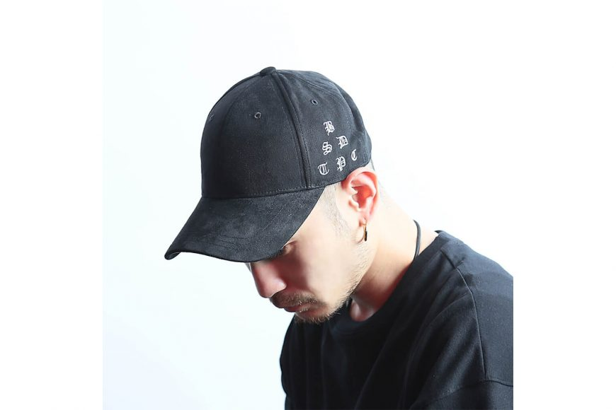 B-SIDE 17 AW Old English Suede Cap (10)