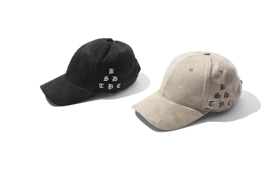 B-SIDE 17 AW Old English Suede Cap (8)