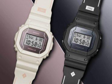CASIO G-SHOCK X PIGALLE DW-5600PGB-1 & DW-5600PGW-7 (1)