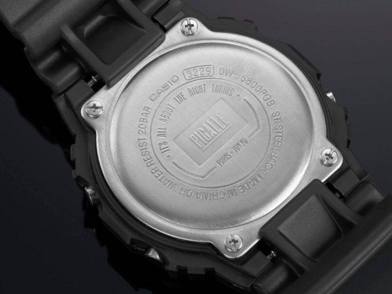 CASIO G-SHOCK X PIGALLE DW-5600PGB-1 & DW-5600PGW-7 (5)