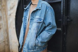 NEXTMOBRIOT 17 Washed Denim Torn Jacke (4)