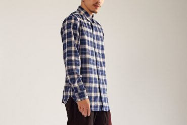 OVKLAB 17 AW Plaid Long Sleeves Shirt (0)