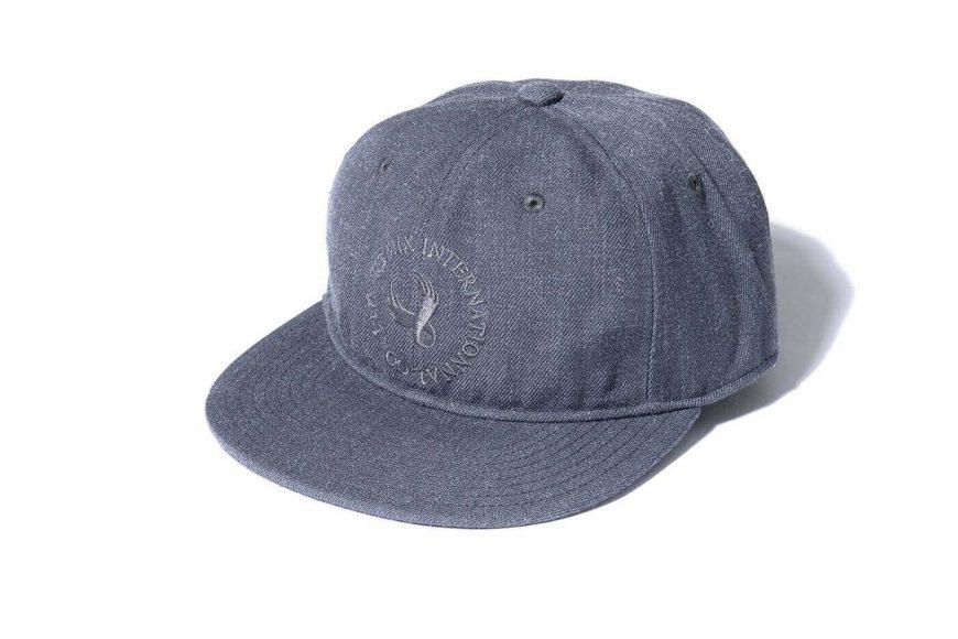 REMIX 17 AW 1 Tone Baseball Cap (5)