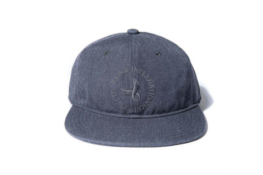 REMIX 17 AW 1 Tone Baseball Cap (6)