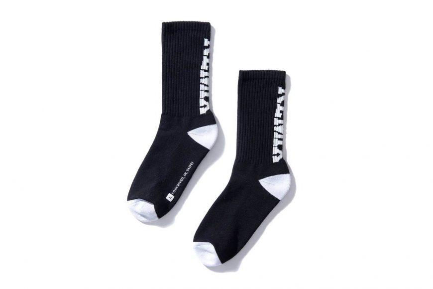 REMIX 17 SS Blockbuster Crew Socks (2)