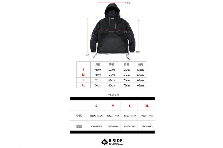 B-SIDE 17 AW BAWS Pullover JKT (22)