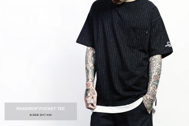 B-SIDE 17 AW Raindrop Pocket Tee (1)