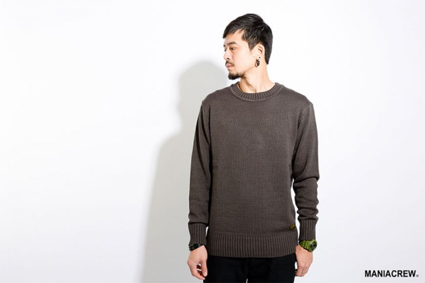 MANIA 17 AW Basic Sweater (1)
