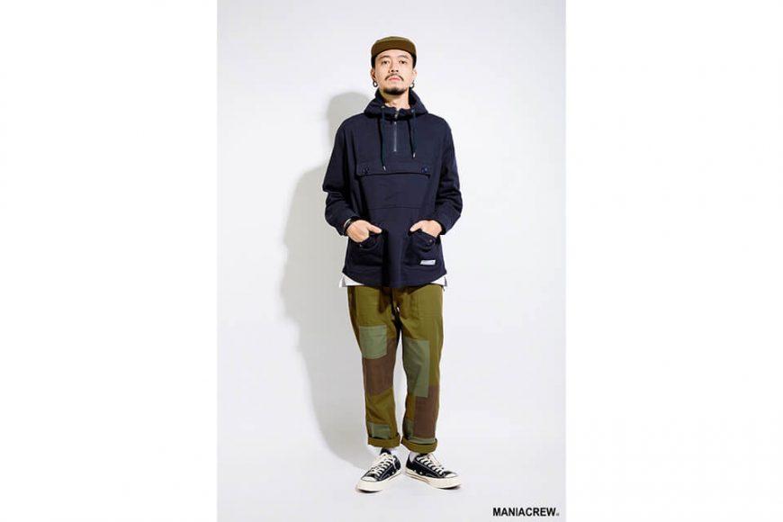 MANIA 17 AW Neck Zip Pullover (1)