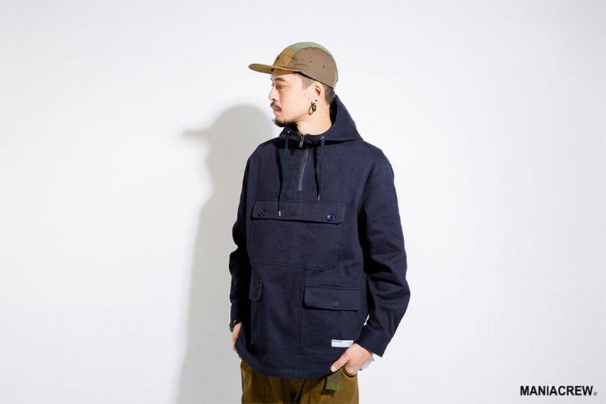MANIA 17 AW Neck Zip Pullover (2)