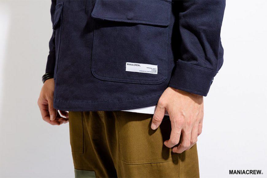 MANIA 17 AW Neck Zip Pullover (5)