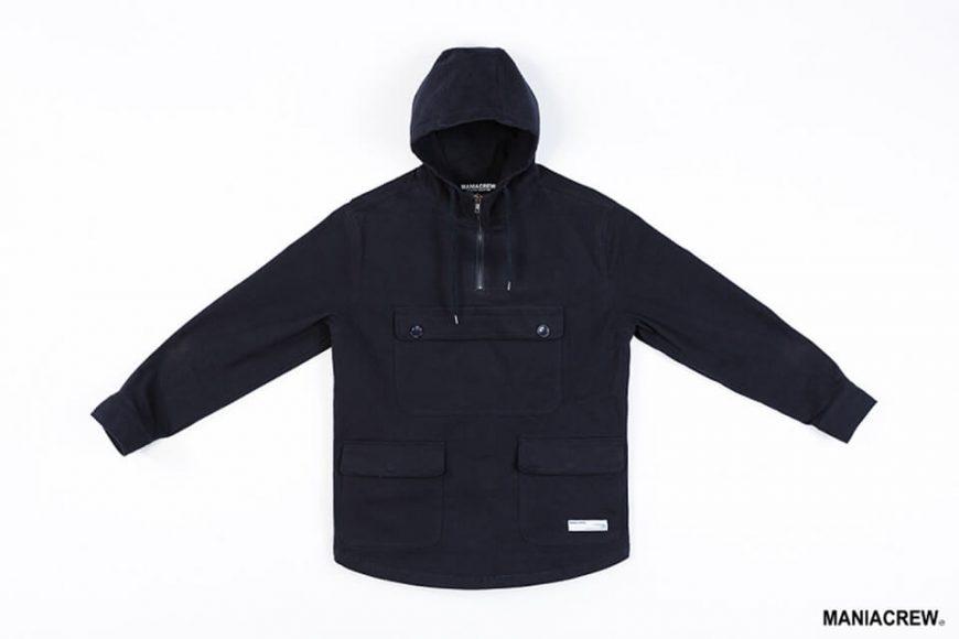 MANIA 17 AW Neck Zip Pullover (8)