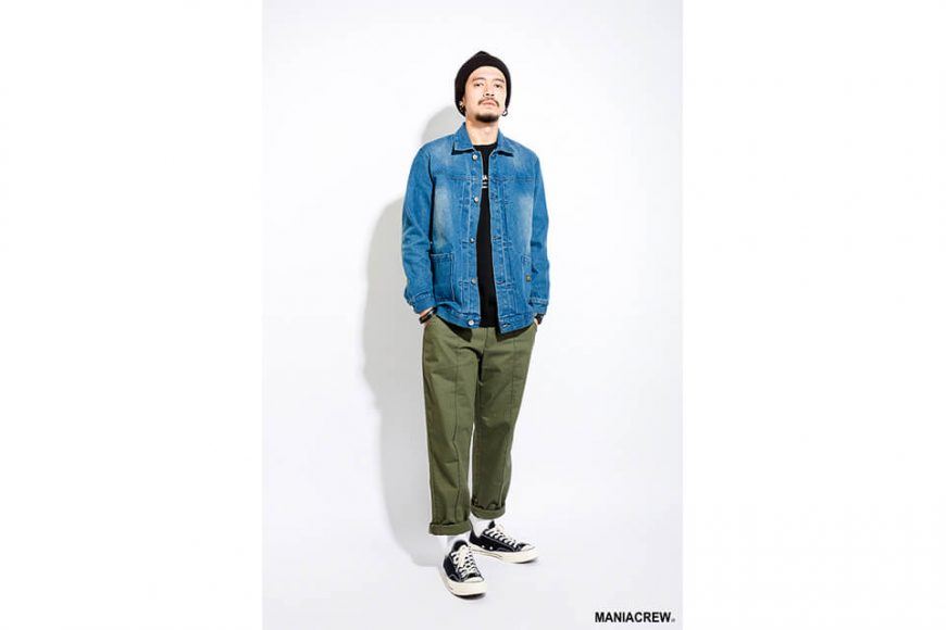 MANIA 17 AW Original Denim Jacket (1)