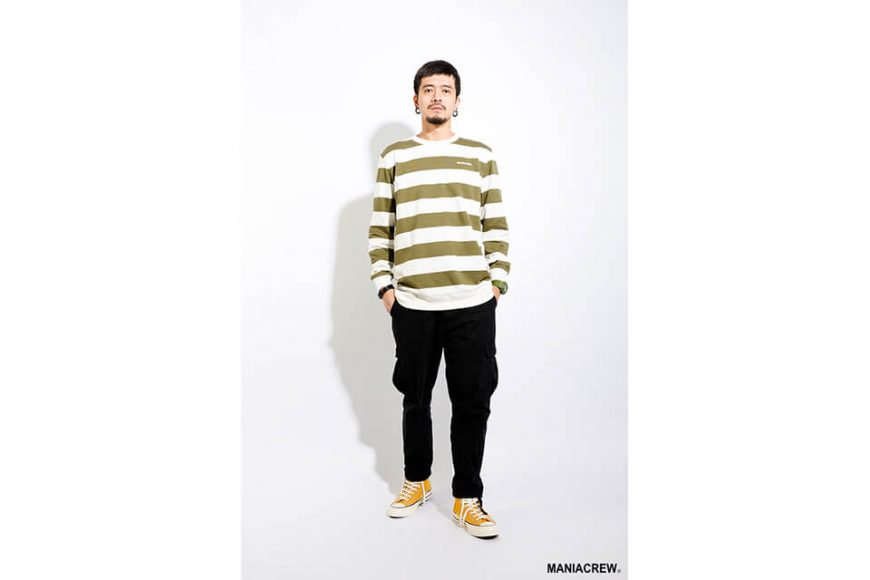 MANIA 17 AW Wide Stripe Sweatshirt (10)