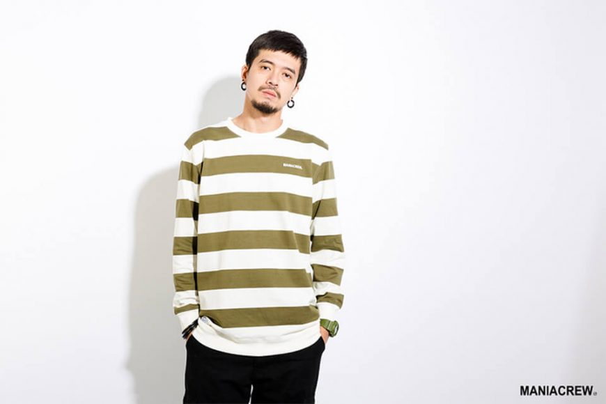 MANIA 17 AW Wide Stripe Sweatshirt (4)