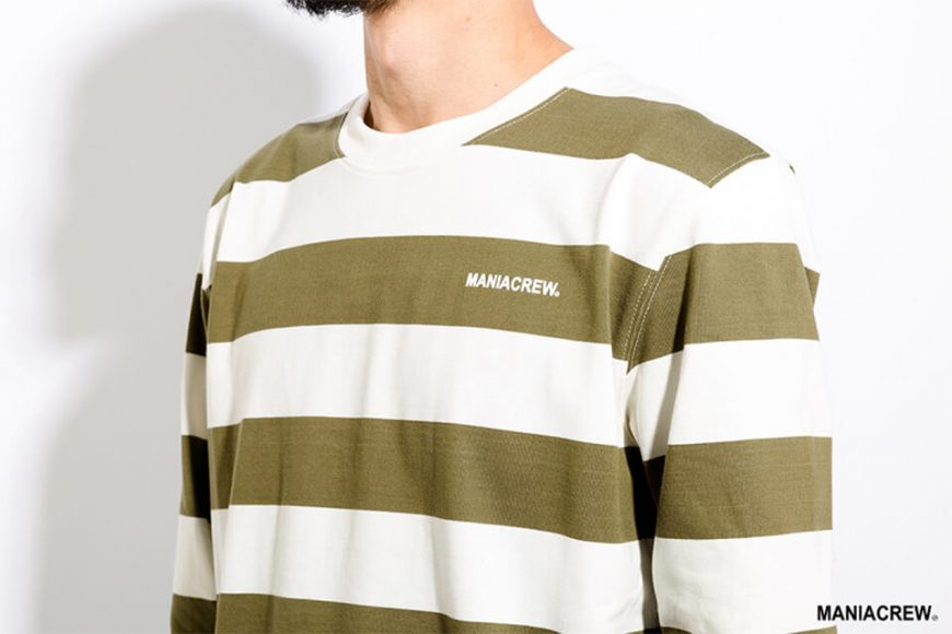 MANIA 17 AW Wide Stripe Sweatshirt (6)