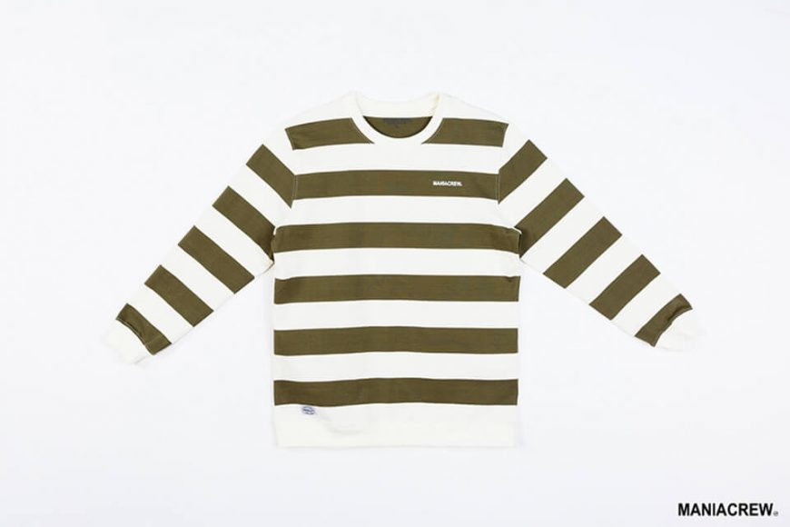 MANIA 17 AW Wide Stripe Sweatshirt (7)