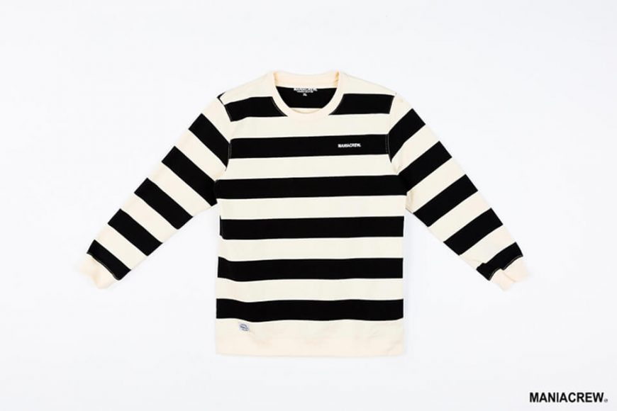 MANIA 17 AW Wide Stripe Sweatshirt (8)