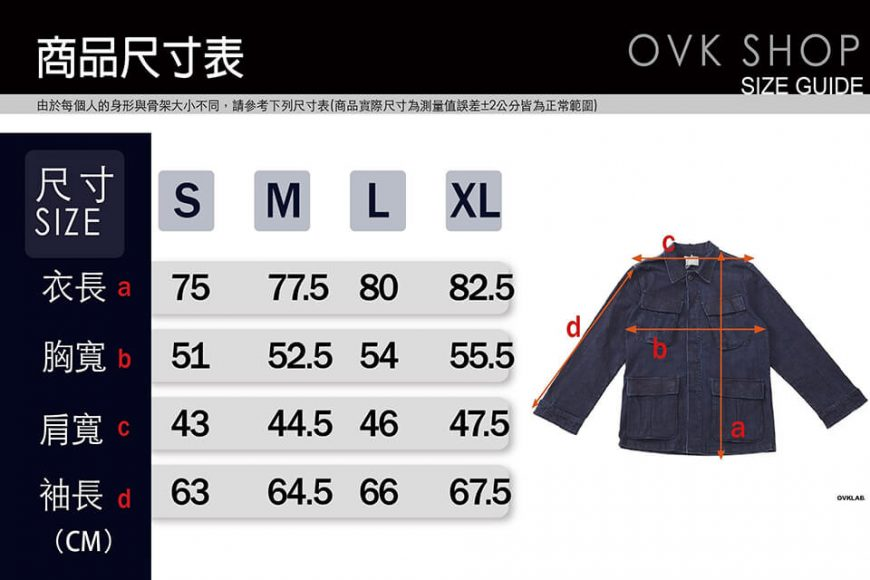 OVKLAB 17 AW Denim Jungle Jacket (18)
