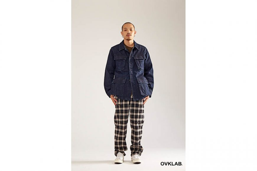 OVKLAB 17 AW Denim Jungle Jacket (2)