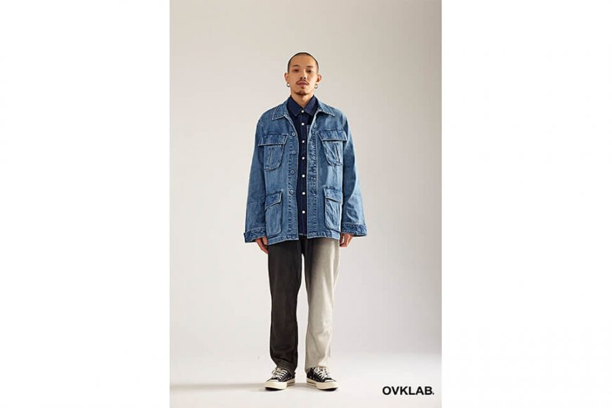 OVKLAB 17 AW Denim Jungle Jacket (5)