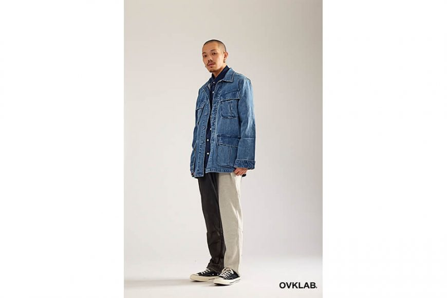 OVKLAB 17 AW Denim Jungle Jacket (6)