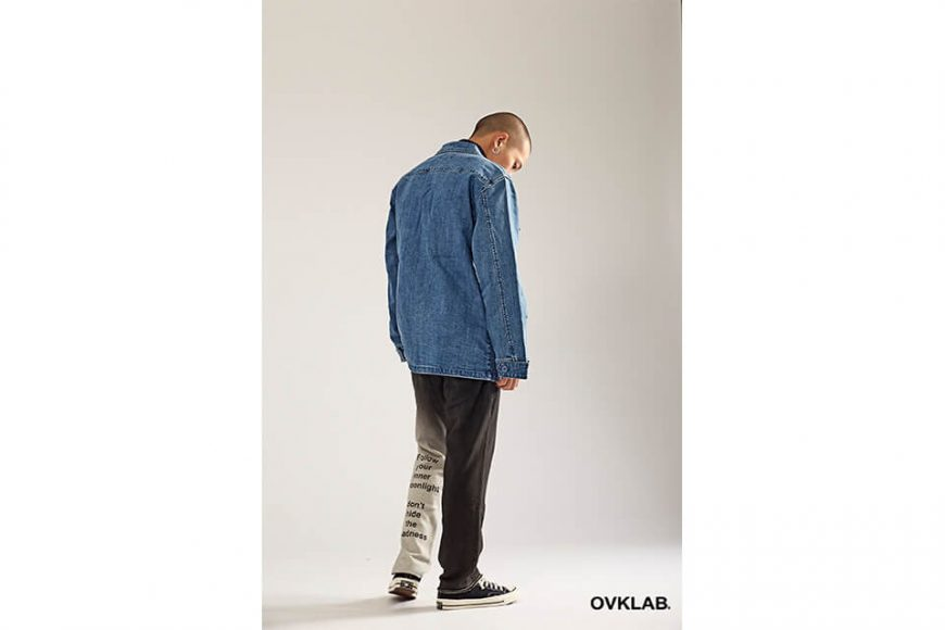 OVKLAB 17 AW Denim Jungle Jacket (7)