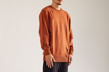 OVKLAB 17 AW Destroyed Knit Sweater (1)