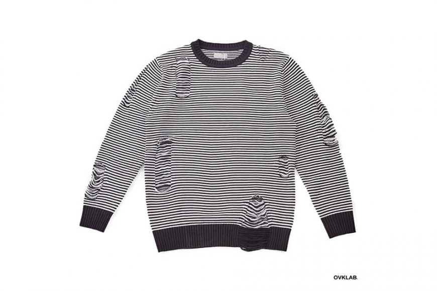 OVKLAB 17 AW Destroyed Knit Sweater (11)