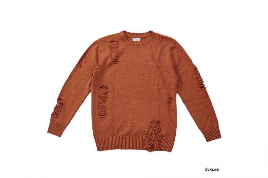 OVKLAB 17 AW Destroyed Knit Sweater (4)