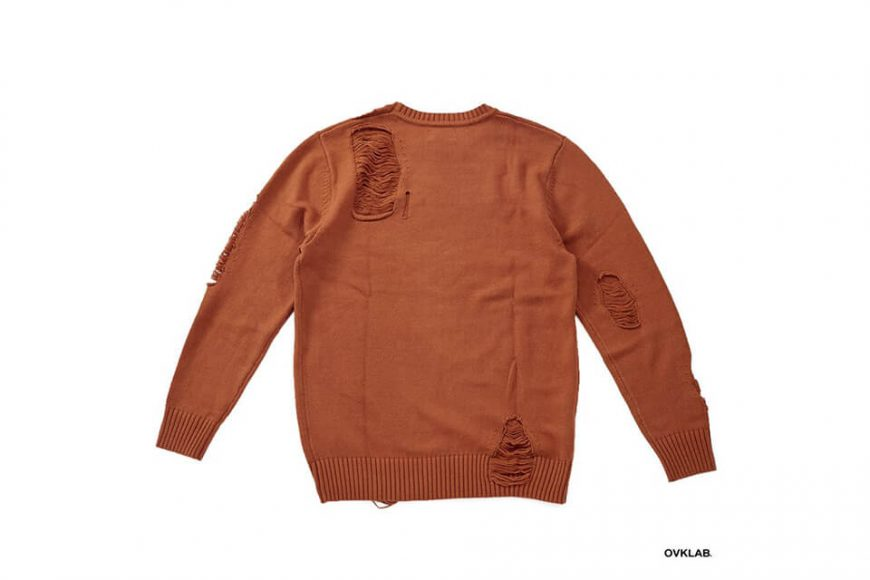 OVKLAB 17 AW Destroyed Knit Sweater (5)