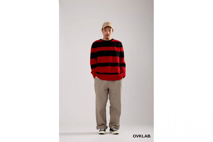 OVKLAB 17 AW Stripe Sweater (2)