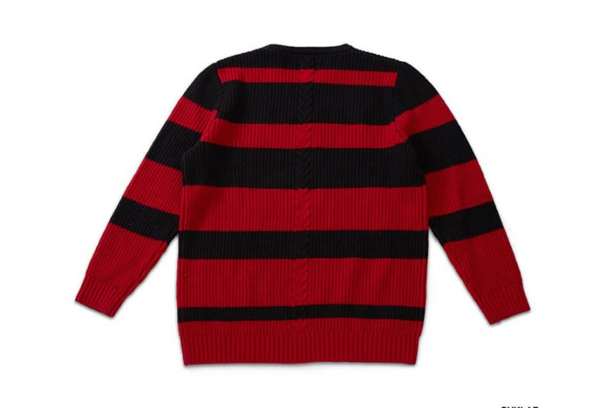 OVKLAB 17 AW Stripe Sweater (6)
