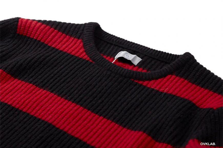 OVKLAB 17 AW Stripe Sweater (7)