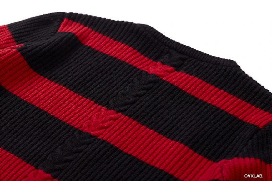 OVKLAB 17 AW Stripe Sweater (8)