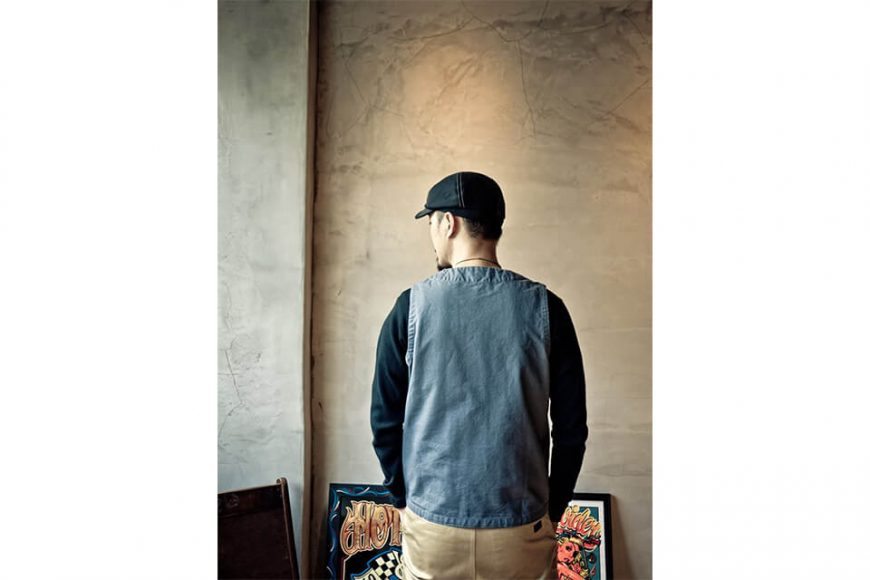 PROVIDER 17 AW Canvas Vest (3)