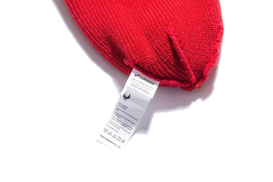 REMIX 17 AW Two Sides Short Beanie (17)