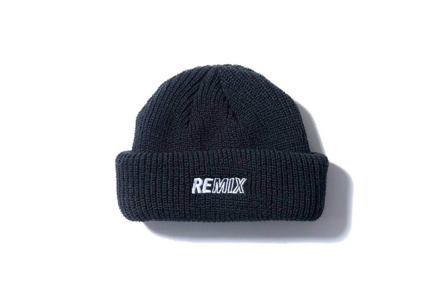 REMIX 17 AW Two Sides Short Beanie (4)