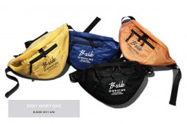 B-SIDE 17 AW Easy Waist Bag (1)