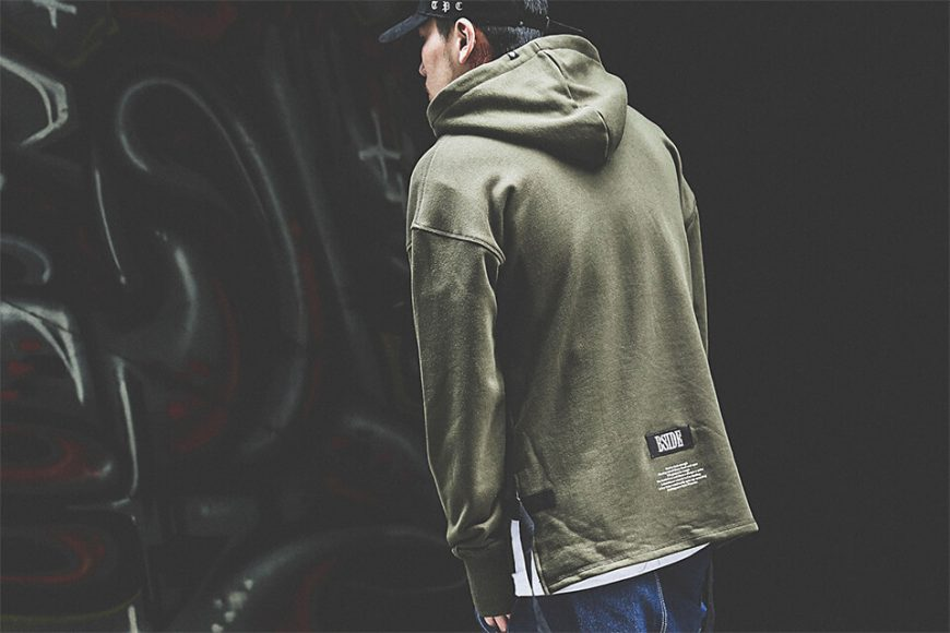 B-SIDE 17 AW Woven Tape M Hoodie (2)