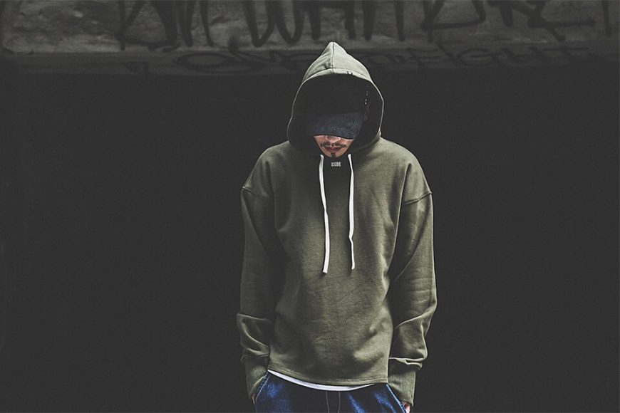B-SIDE 17 AW Woven Tape M Hoodie (3)