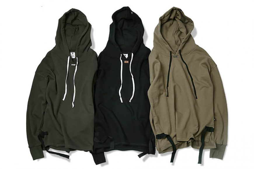 B-SIDE 17 AW Woven Tape M Hoodie (4)