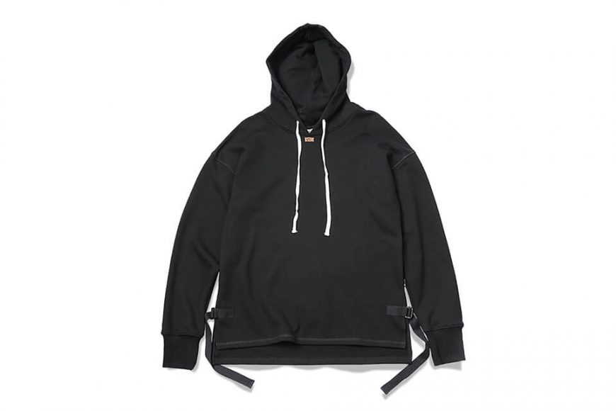 B-SIDE 17 AW Woven Tape M Hoodie (5)