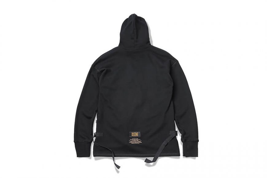 B-SIDE 17 AW Woven Tape M Hoodie (6)