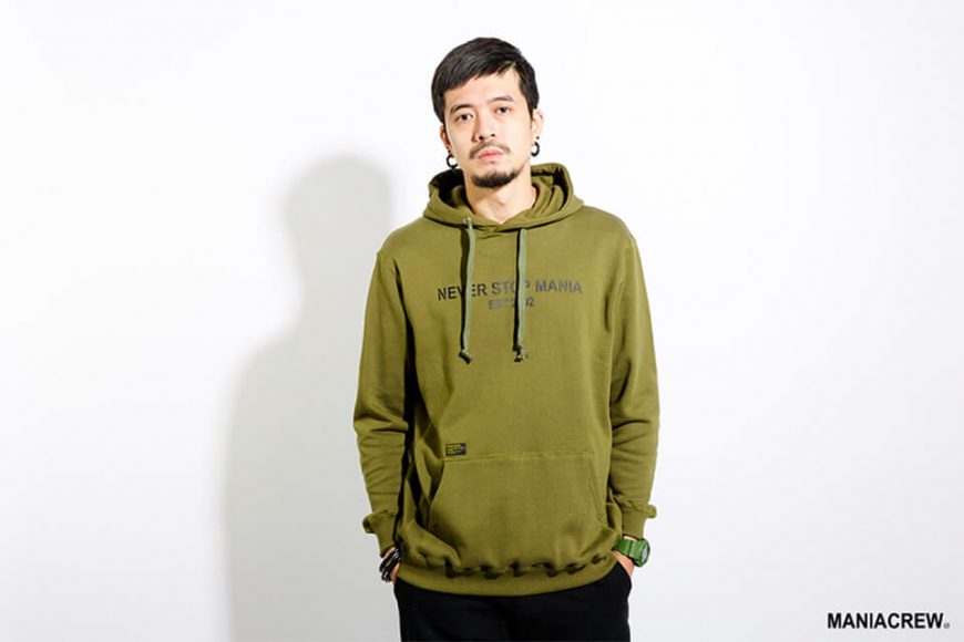 MANIA 17 AW Never Stop Hoodie (3)